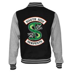 Riverdale Dam / Dam South Side Serpents Logo Varsity Jacket