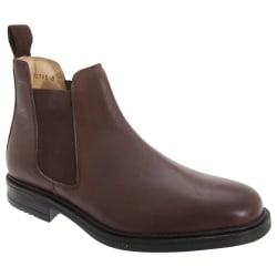 Roamers Fodral för mäns läderkvartsfodral Gusset Dealer 10 UK Br