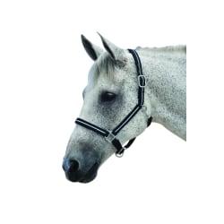 Roma Reflekterande huvudhuv Pony Svart