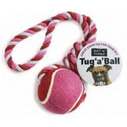 Ruff N Tumble Drag en bollhundleksak Medium Kan variera