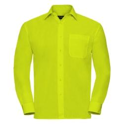 Russell Samling långärmad skjorta för herrar 15.5 Kalk
