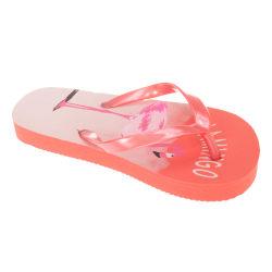Sandrocks Barnflickor Flamingo Flip Flops 9/10 Child UK Lax