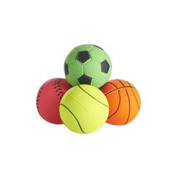 Sharples Svamphundleksakbollar 6pk Flerfärgade