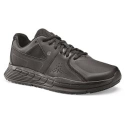 Shoes For Crews Kondor läderskor för kvinnor / damer 5 UK Svart