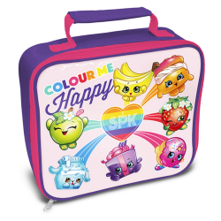 Shopkins Officiell Rainbow Celebration Lunch Bag One Size Rosa