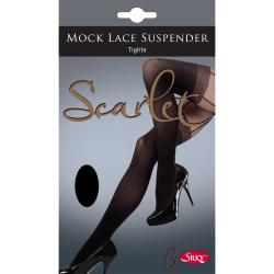 Silky Kvinnor / damer Scarlet Mock Lace Hängslinnbyxor (1 par) X