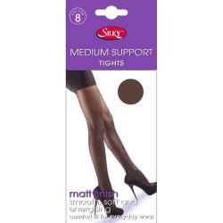 Silky Lätt stödstrumpbyxor för kvinnor / damer (1 par) 42-48in S