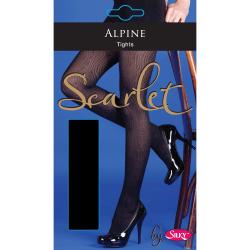 Silky Strumpbyxor för kvinnor / damer Scarlet Alpine Design (1 p
