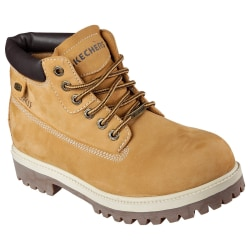 Skechers Herr Sargents Verdict Leather Boot 7 UK Beige