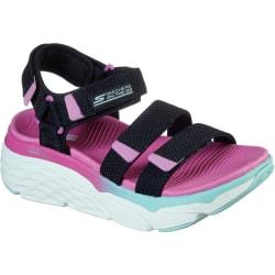 Skechers Kvinnor / damer max dämpande slay sandaler 5 UK Svart /