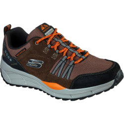Skechers Mens Equalizer 4.0 Trail Leather Trainers 8 UK Brun sva