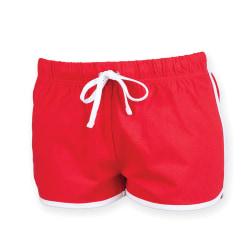 Skinni Fit Retro-träning / fitness-shorts för kvinnor / damer M