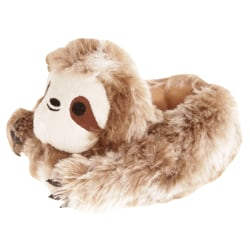 Slumberzzz Barn / Barns Sloth Tofflor 11-12 Child UK Brun