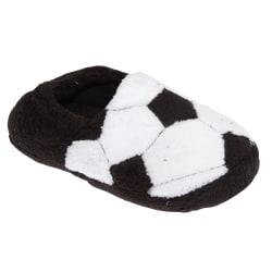 Slumberzzz Barn / pojkar fotboll tofflor 11-12 Child UK | 30-31