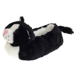 SlumberzzZ Barnkläder / barn Fleece fodrade katt tofflor 11/12 M