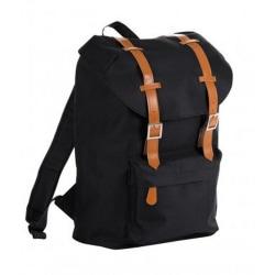 SOLS Hipster spänne rem ryggsäck / ryggsäck One Size Svart
