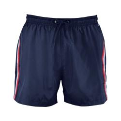SOLS Sunrise kontrast-shorts för herrar S Franska marinen