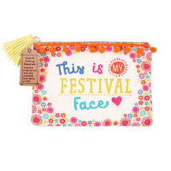 Something Different Festival Face Make Up Pouch One Size Flerfär