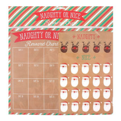 Something Different Naughty eller Nice Countdown Chart One Size