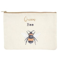 Something Different Queen Bee Makeup Pouch One Size Vit