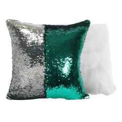 Something Different Vändbar Sequin Mermaid Cushion One Size Grön