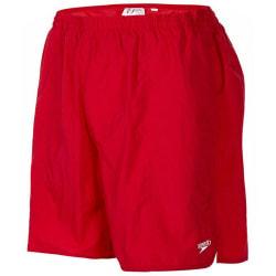 Speedo Fritids shorts för män S Röd
