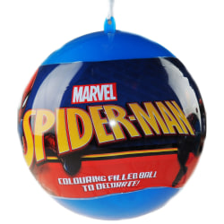 Spider-Man Giant Christmas Bauble & Stationery Set One Size