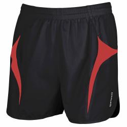Spiro Herrsport Micro-Lite Running Shorts M Svart röd
