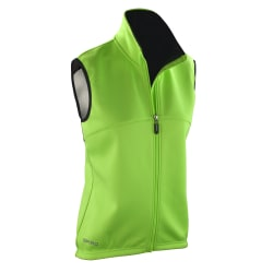 Spiro Kvinnor / damer Airflow Training Gilet / Bodywarmer L Neon