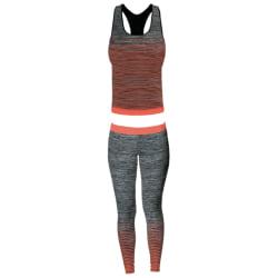 Sport Zone Kvinnors / damer vest top och leggings set UK 8-14 Sv