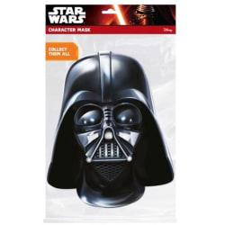 Star Wars Darth Vader-mask One Size Svart