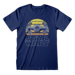 Star Wars Unisex vuxen Tie Fighter T-shirt XXL Blå