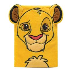 The Lion King Simba Furry A5 anteckningsbok A5 Gul / Svart