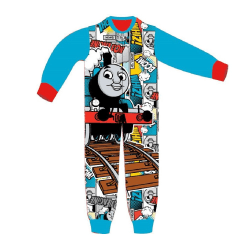 Thomas And Friends Barn / barn Sublimation Onesie 3-4 Years Blå