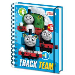 Thomas & Friends A5 trådbunden anteckningsbok A5 blå Blue A5