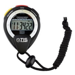 TIS Pro 025 Stop Watch One Size Svart / Vit