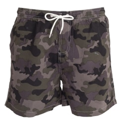 Tom Franks Camo Printed Swim Shorts för herrar M Camo