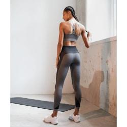 Tombo Kvinnor / damer sömlös panelerade leggings L/XL Ljusgrå /