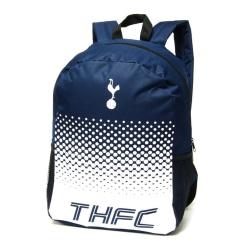 Tottenham Hotspur FC Officiell Fade Football Crest-ryggsäck / ry