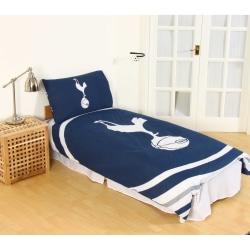 Tottenham Hotspur FC Officiell pulsdesign vändbar täcke och örng