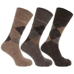 Traditionella argyle mönster för icke-elastiska lammar för ullbl