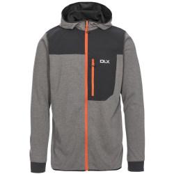 Trespass Barnes DLX Quick Dry Hoodie för män XS Mörkgrå Marl