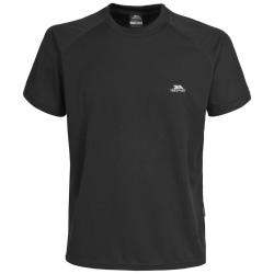 Trespass Herr Colt Kortärmad T-shirt med kort ärm XS Svart