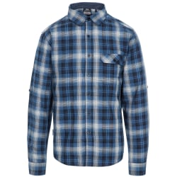 Trespass Herr Shougle-skjorta M Navy Check