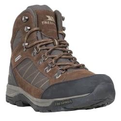 Trespass Herrar Chavez Mid Cut Hiking Boots 12 UK Mörkbrun