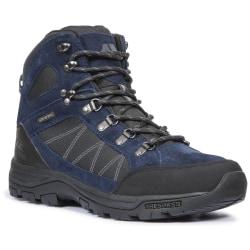 Trespass Herrar Chavez Mid Cut Hiking Boots 7 UK Marinblå