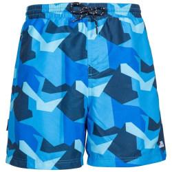 Trespass Herrar Chiggers Mid Length Swim Shorts XXL Blå Camo