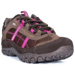 Trespass Kvinnor / damer har fallit med lätta skor 4 UK Kaffe