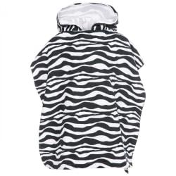 Trespass Logan Poncho handduk för barn / barn One Size Zebra Pri