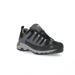 Trespass Mens Cardrona II Vibram Walking Shoes 8 UK Mörkgrå